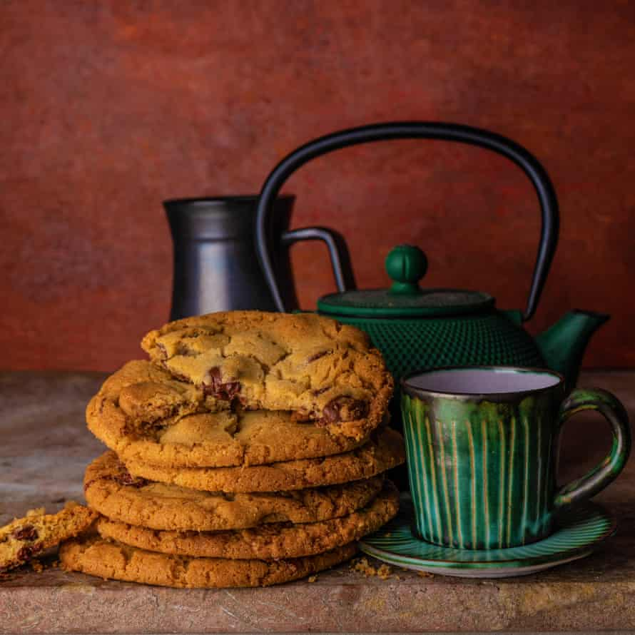Claire Ptak's egg-yolk chocolate chip cookies.