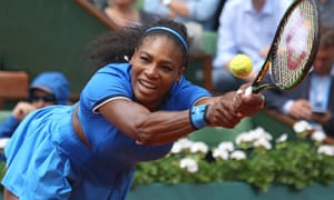 Game changer: Serena Williams at the 2016 French Open.