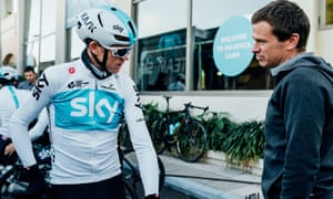 Tim Kerrison and Chris Froome