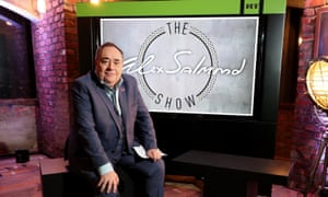 Alex Salmond launching his new show on RT