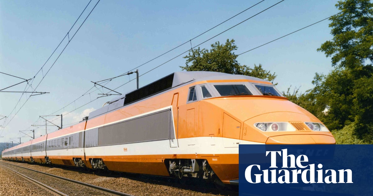 France's high-speed TGV train enters service – archive, 1981