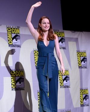 Brie Larson at Comic-Con 2016