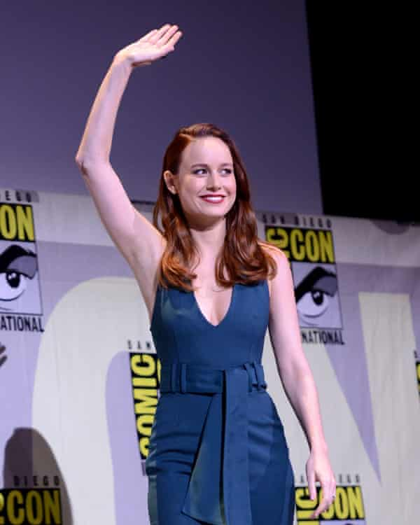 Brie Larson at Comic-Con International in July.