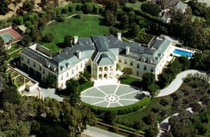 This 56,500 sq ft Holmby Hills mansion, once belonging to television producer Aaron Spelling, has sold for $120m.