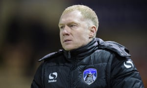 Paul Scholes has quit Oldham after one win in seven matches at the League Two club.