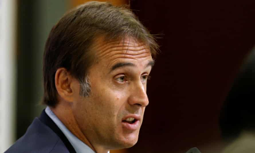 Julen Lopetegui says Spain 'are very proud of the past, but looking forward toward the present and the future'.