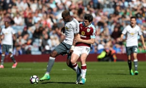 Premier League games such as Manchester United's match at Burnley are often watched illegally as piracy becomes the norm.
