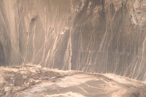 Gobi Desert in China's Gansu Province