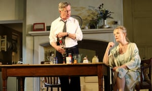 Alex Jennings as Robin and Lindsay Duncan as Diana in Hansard by Simon Woods.