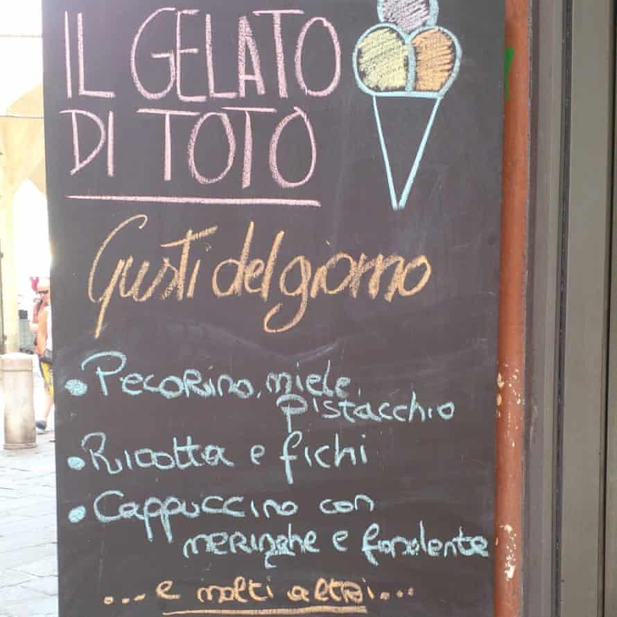Gelateria Di toto, Pisa, Italy