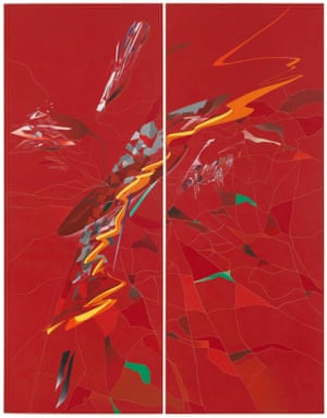 Detail from Zaha Hadid's Metropolis (1988)