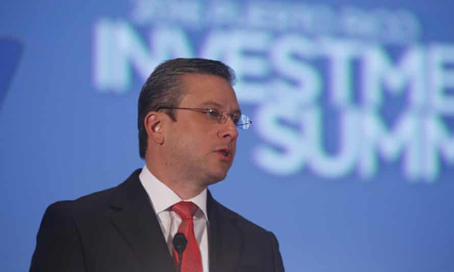 Puerto Rico Investment Summit (PRIS)epa05154622 Governor of Puerto Rico Alejandro Garcia Padilla speaks during the Puerto Rico Investment Summit (PRIS) in San Juan, Puerto Rico, 11 February 2016.