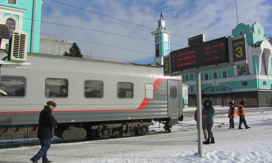 Novosibirsk station.
