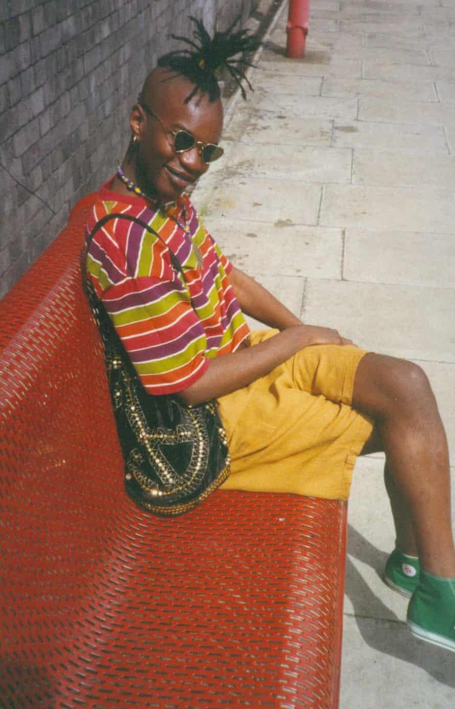 David McAlmont before Pride, 1992.