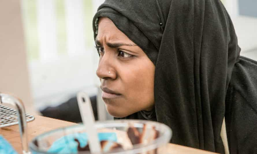 Nadiya Hussain, winner of the 2015 Great British Bake Off, which has been nominated for the fifth consecutive year.