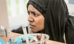 Nadiya Hussein on The Great British Bake Off