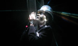 Grace Jones performs at Festival No 6 in Portmeirion, Wales
