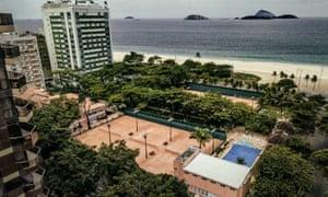 Aerial view of the Rio de Janeiro Country Club