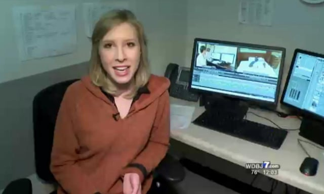 Virginia shooting: WDBJ7 journalists memorialized by