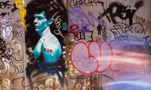 Street art in the Raval district, Barcelona.