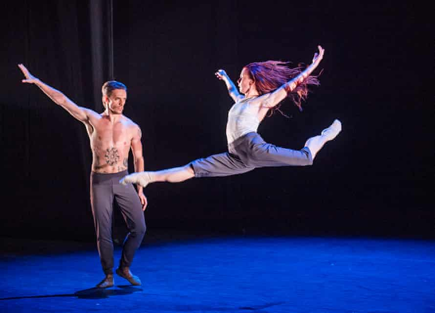 Osipova and Polunin in Silent Echo by Russell Maliphant.