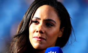 Alex Scott: one of the pundits of the year.