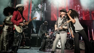 Iris Gold, Nile Rodgers, Dave Stewart and Beverley Knight rock out another hit.