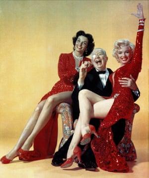 The bombshell of choice … Gentlemen Prefer Blondes (1953).