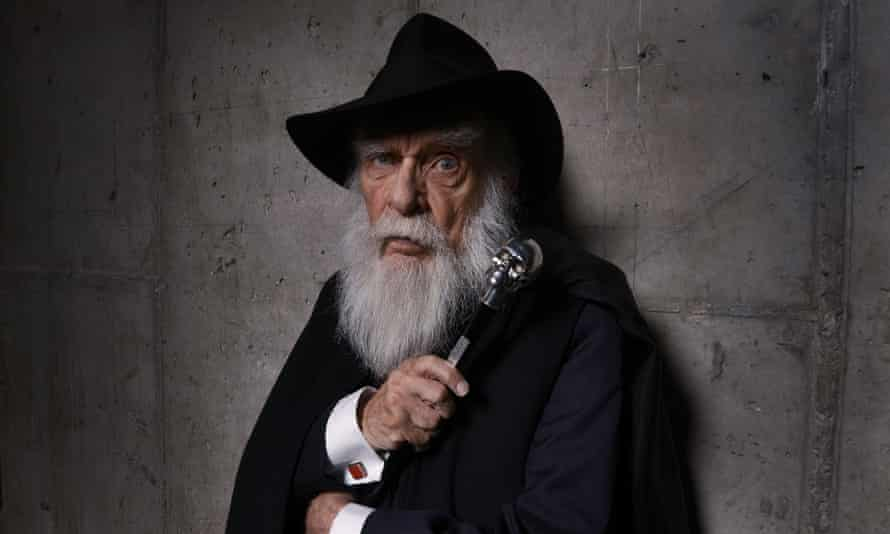 James 'The Amazing' Randi at a presentation of the documentary An Honest Liar at the Tribeca film festival in 2014.