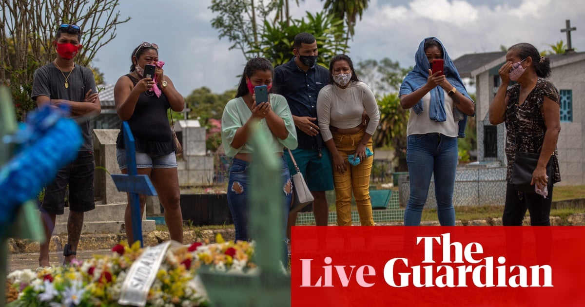 Coronavirus live news: Brazil suffers record daily deaths; EU to tighten vaccine export guidelines