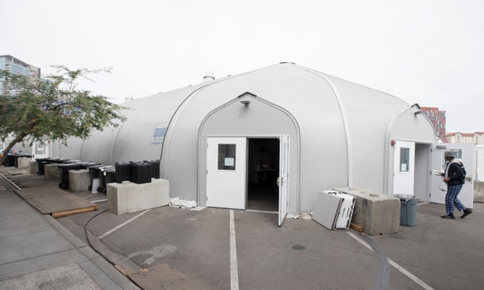 San Diego Unveils Unorthodox Homelessness Solution Big Tents Us