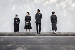 The Beloved King, in Bangkok, Thailand, by Coralie Maneri 'Thousands of people in Thailand remember the late King Bhumibol Adulyadej on the anniversary of his death in 2016. Each year since, various religious ceremonies, events and military parades are held throughout the country and everyone dresses in black.'