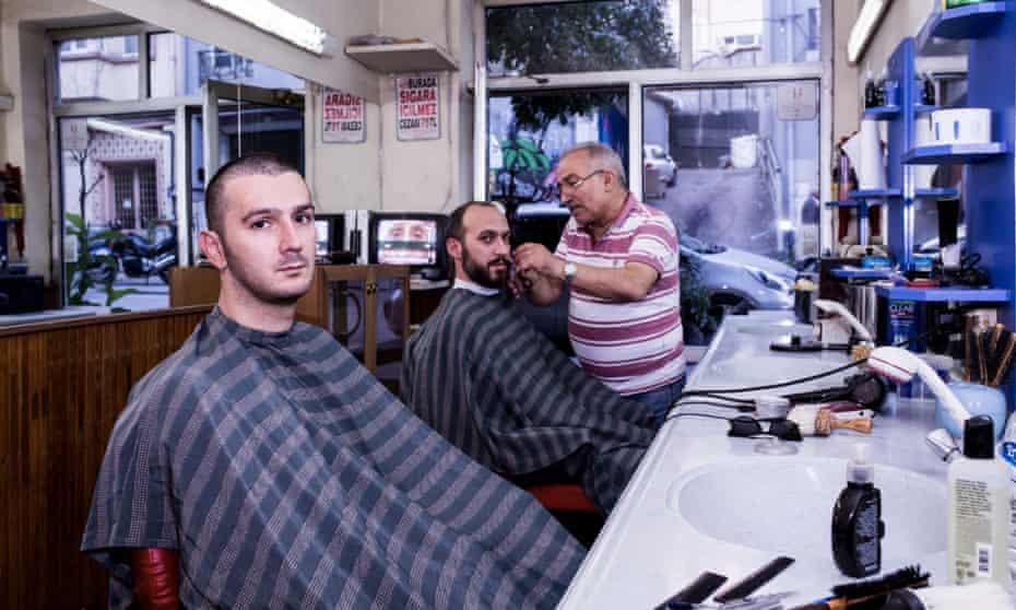 Barbershop duo: Jakuzi (l-r) Kutay Soyocak and Taner Yücel.