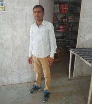 Firoz Khan, a nurse in the local hospital, Phalodi, Rajasthan, India