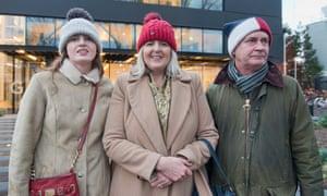 Molly, Debra and Chris Williams