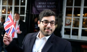 Labor senator Kristina Keneally called on the government to block the visa Raheem Kassam, pictured