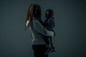 A mother with her son in South Carolina in January. He was taken from her and placed in foster care only to be returned weeks later.