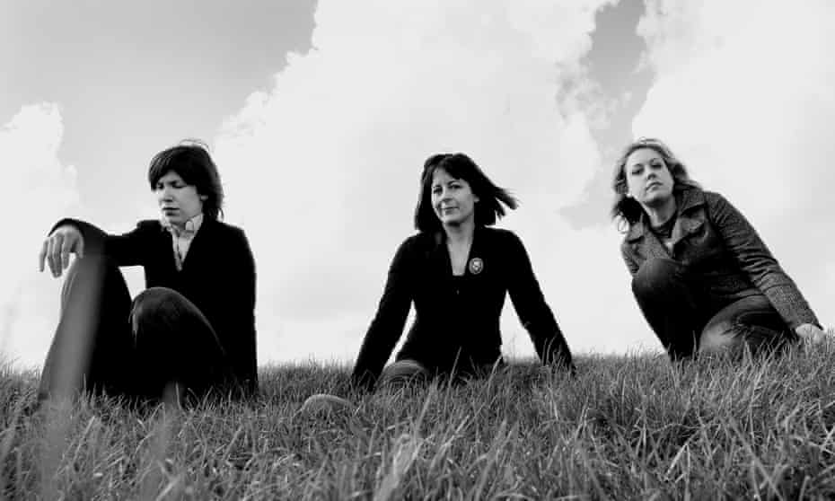 'Possessed of utterly alluring girl-gang cool' ... (L-R) Carrie Brownstein, Janet Weiss and Corin Tucker.