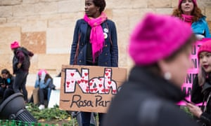 The Women's March on Washington: 'We started 2017 with perpetual outrage and now we have perpetual outrage, plus a plan for 2018'.