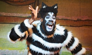 All-action … Alessandro Babalola in Dick Whittington and his Cat