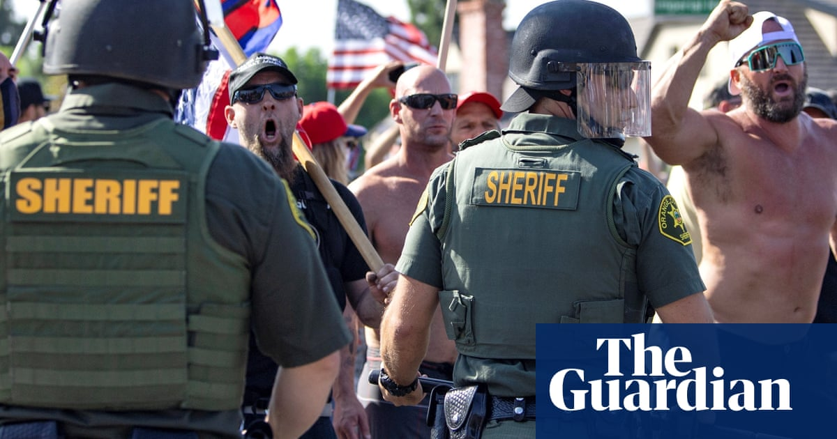 California sheriff warns officers not to join far-right extremist groups, records reveal