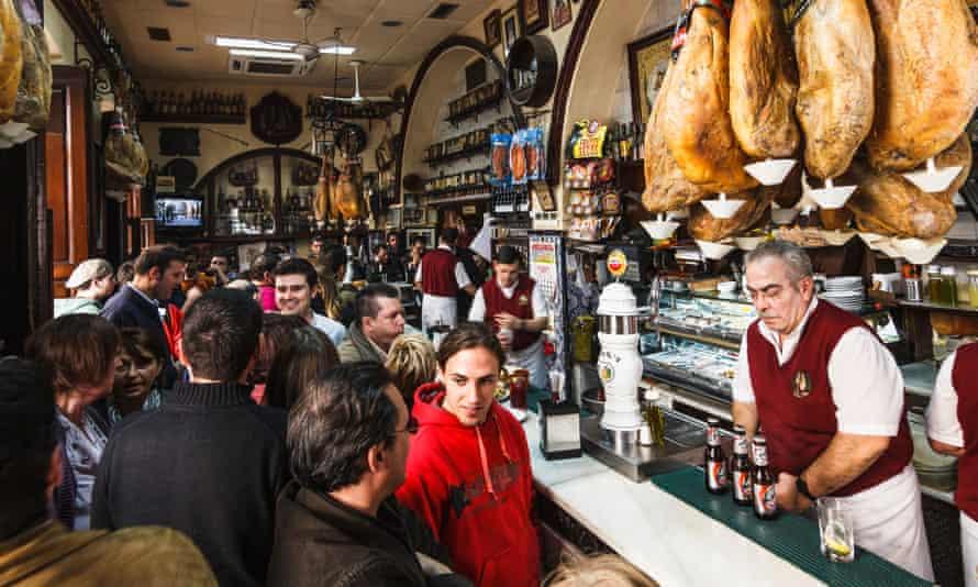 Casa Puga tapas bar in Almería.