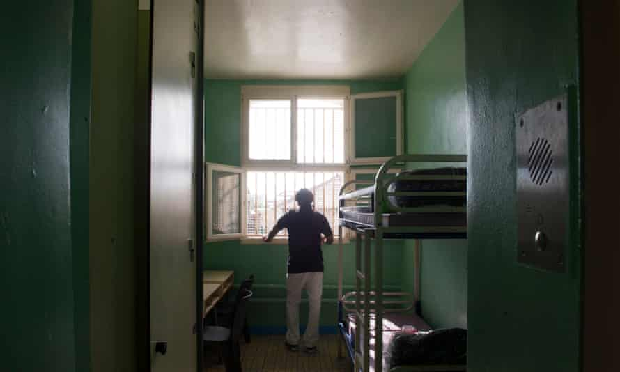 Fresnes prison near Paris where some inmates have been given their own cells in an attempt to reduce the risk of radicalisation.