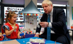 Boris Johnson gestures as he participates in an art class  in Beaconsfield, Buckinghamshire