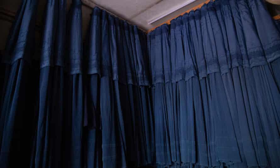 Trade in burqas is booming in Kabul.