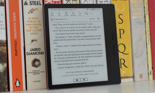 Amazon Kindle Oasis 2019 Review The Most Paper Like Reader