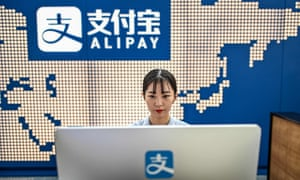 Ant Group owns Alipay, one of the dominant Chinese payment platforms.