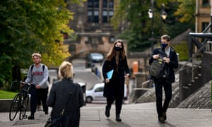 The outbreak at Glasgow University is among others at institutions across Scotland.