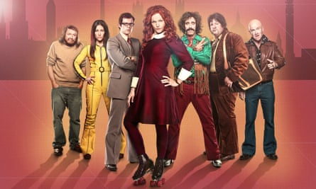 A glorious coming together of Leveson and Boogie Nights: Comic Strip Presents … Red Top.