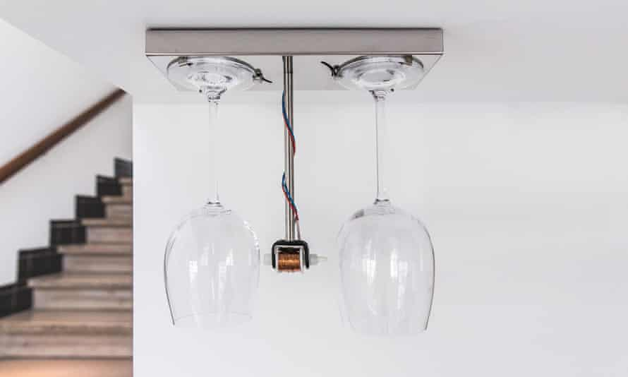 A cool, crisp, crystal 'ding' … Peter van der Jagt's Bottoms Up doorbell.